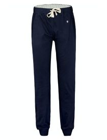 HOMEWEAR Pyjama Hose lang mit Tunnelzug - Blau