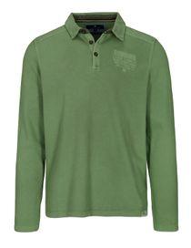 ORGANIC COTTON Polo Shirt 1/1 - Pesto