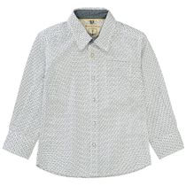 BASEFIELD Hemd mit Allover-Print - Offwhite
