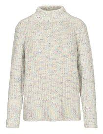 Turtleneck-Pullover - Offwhite Multicolor