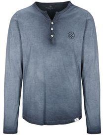 Henley Shirt - Night Blue