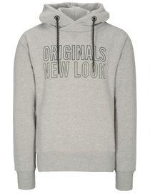 Kapuzensweatshirt Originals - Silver Melange