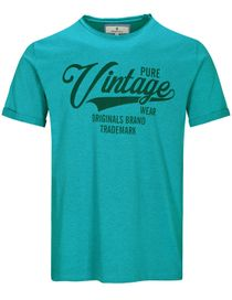 T-Shirt Pure Vintage - Lake Blue