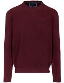 Pullover - STEFAN mit meliertem Design - Dark Grape