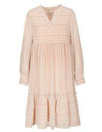 Kleid mit Allover-Print - Brightwhite