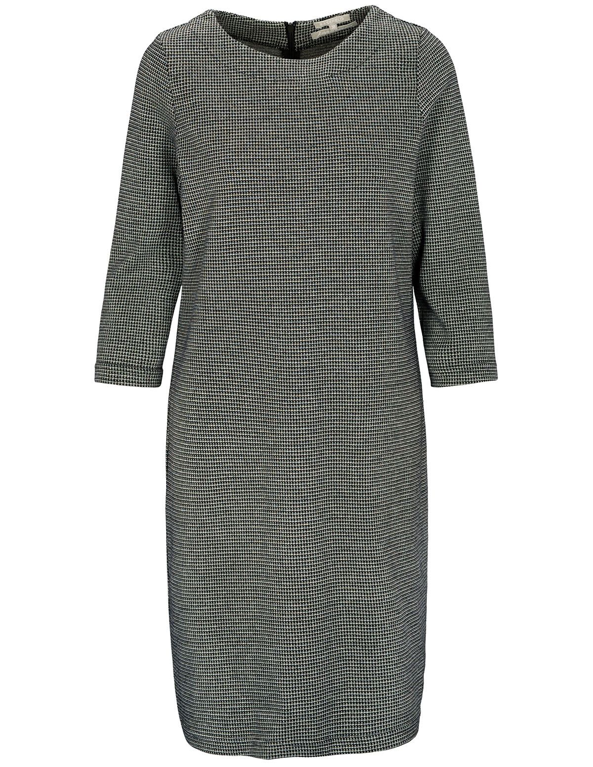 Kleid mit 3/4 Arm - Black White