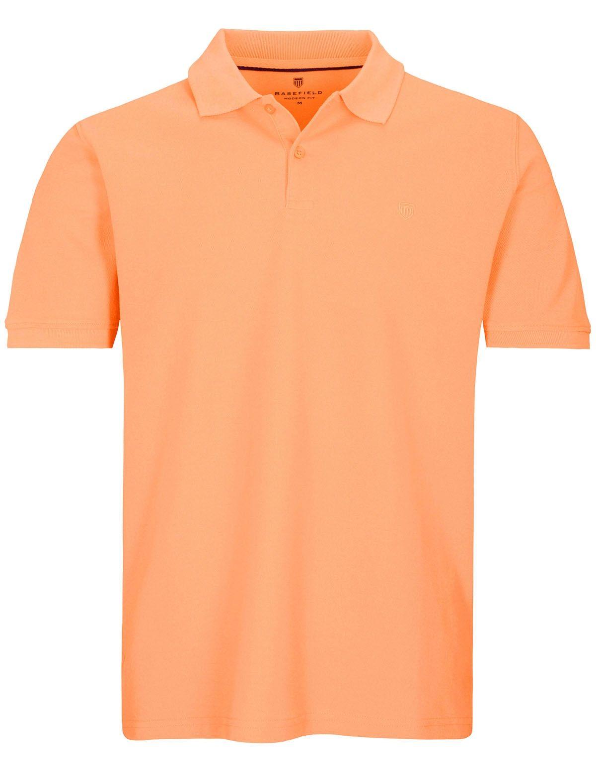 Polo Shirt mit Logo-Stickerei - Fresh Peach