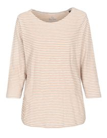 Shirt mit Streifen-Design - Camel Melange