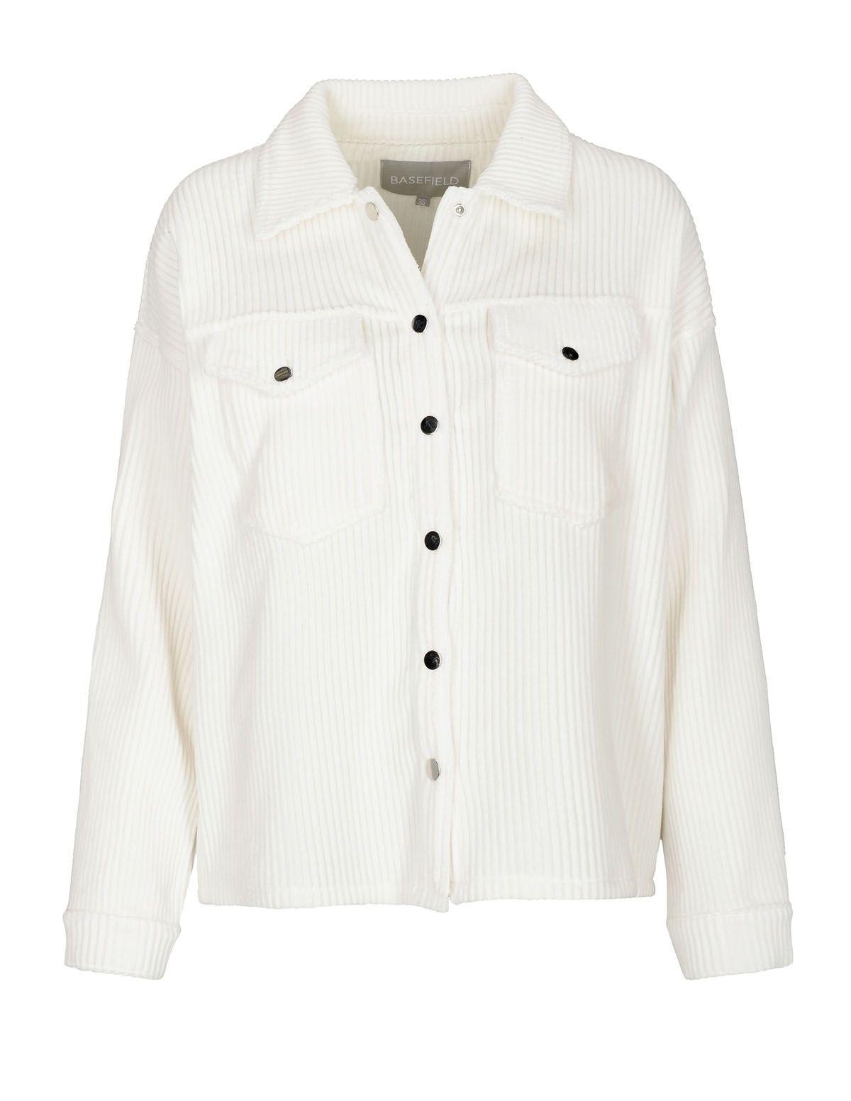 Breitcord-Overshirt - Off White