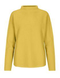 Pullover mit Stehkragen - Limestone