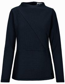 Sweatshirt Struktur - Night Blue