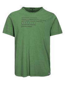 T-Shirt mit Print - Pesto