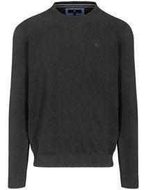 Pullover - STEFAN mit meliertem Design - Anthra Melange
