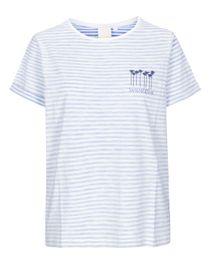 T-Shirt Organic Cotton - Pacific Blue