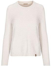 Pullover Chenille - Peral White