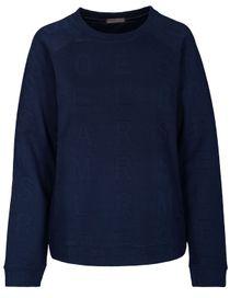 Sweatshirt in  3D-Optik - Atlantis Blue