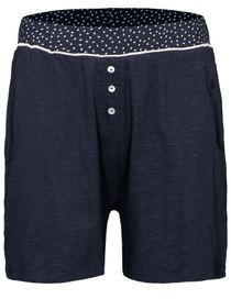 HOMEWEAR Shorts mit Knopfleiste - Marine
