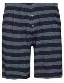 HOMEWEAR Shorts - Jeans Meliert Stripe