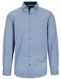 Freizeithemd Langarm MODERN FIT - True Blue