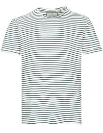 T-Shirt 1/2 Arm Streifen - Pine