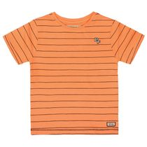 T-Shirt mit Streifen - Soft Orange Stripe