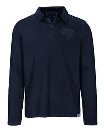 ORGANIC COTTON Polo Shirt 1/1 - Blue Navy