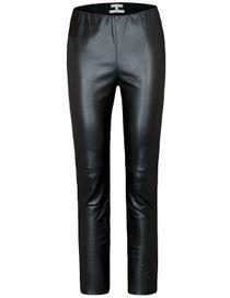 Leggings in Leder-Optik - Black