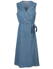 Kleid Tencel Denim Optic - River Blue