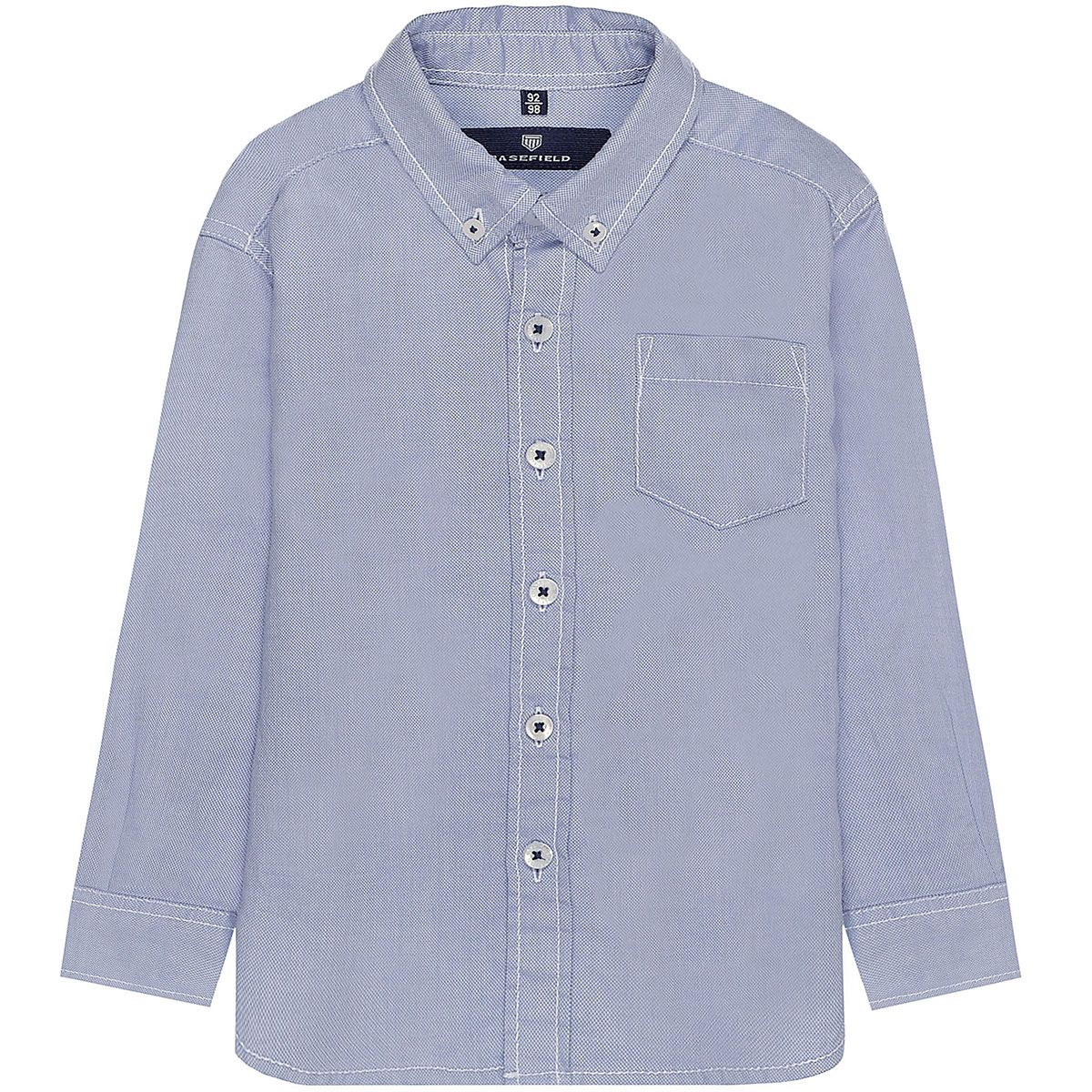 BASEFIELD Hemd - Oxford Blue