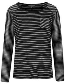 Streifenshirt ANDREA - Deep Black