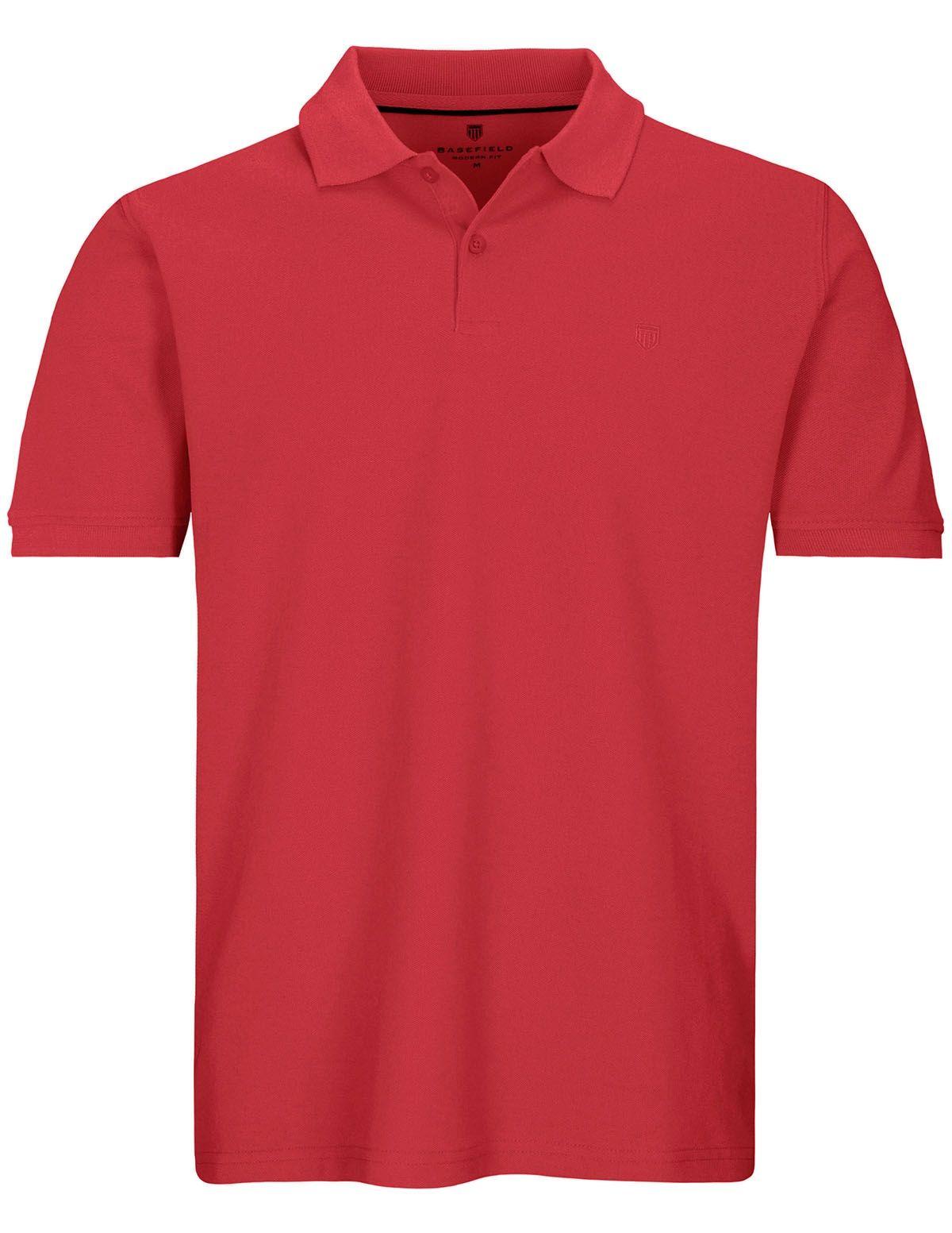 Polo Shirt mit Logo-Stickerei - Cherry
