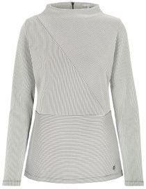 Sweatshirt Struktur - Soft White