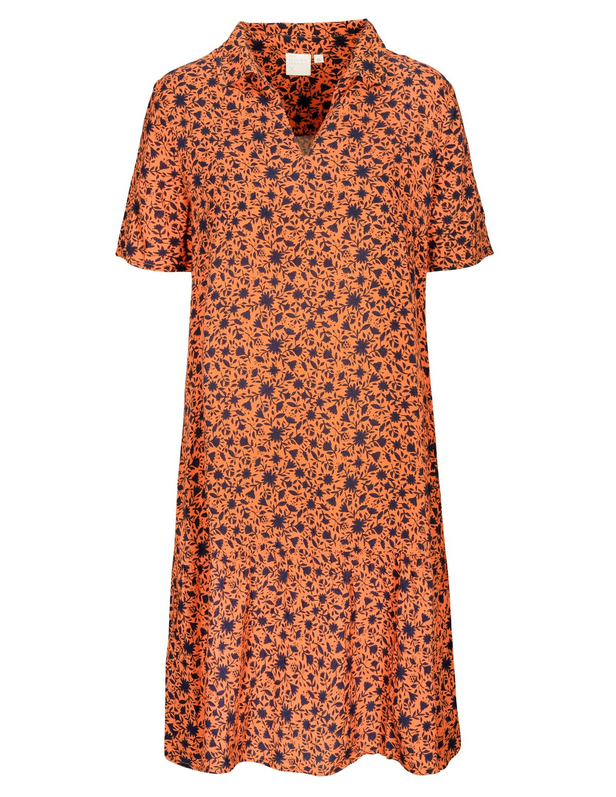 Kleid mit Allover-Print - Mango Sorbet