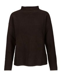Pullover mit Stehkragen - Seductive Brown