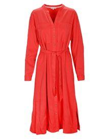 Kleid Tencel™ Sportiv - Tomato Red
