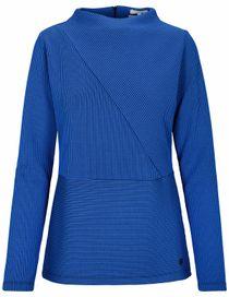Sweatshirt Struktur - Sosmoblue