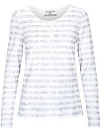 Ringelshirt TINY - White Stripe