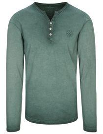 Henley Shirt - Pine