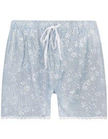 Web Shorts - Hellblau Weiss