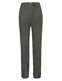 Hose mit Struktur-Muster - Black White