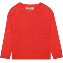 BASEFIELD Strickpullover - Red