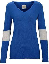 V-Neck Pullover COCO - Planet Blue