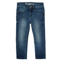 BASEFIELD Jungen Jeans mit verwaschener Optik - Dark Blue Denim