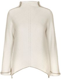 Pullover Turtleneck - Woolwhite  Shadow