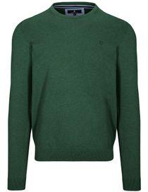 Pullover - STEFAN mit meliertem Design - Jungle Green