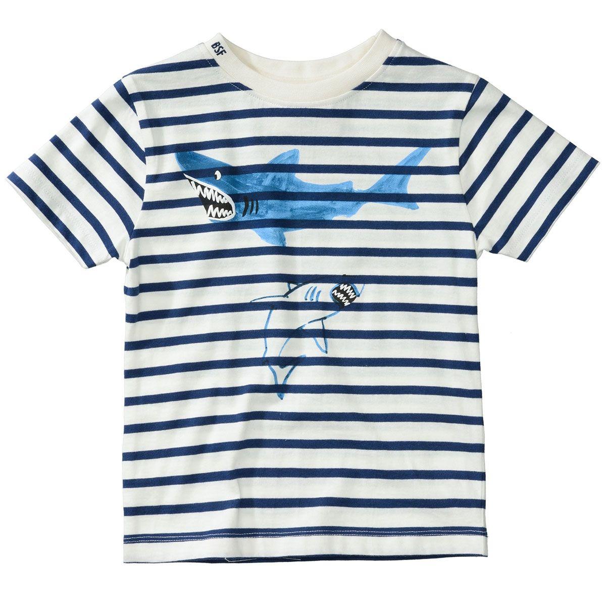 BASEFIELD T-Shirt HAIE - Offwhite Stripe