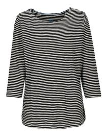 Shirt mit Streifen-Design - Black