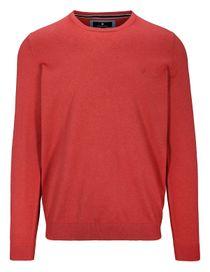 Pullover - STEFAN mit meliertem Design - Indian Red