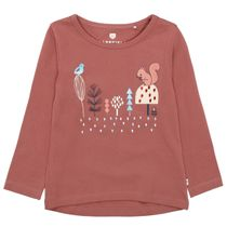 BASEFIELD Shirt mit Print - Indian Red