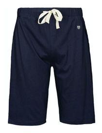 HOMEWEAR Pyjama Shorts mit Tunnelzug - Navy